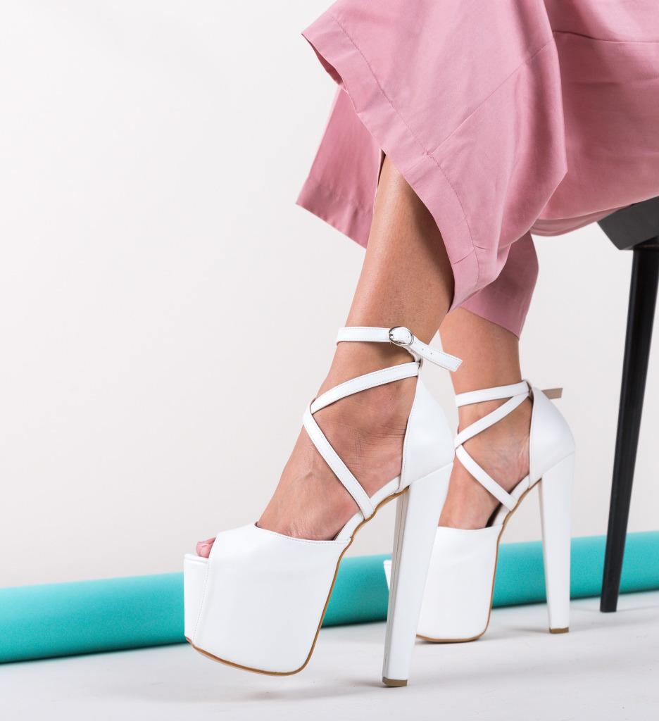 Sandale Exol Albe