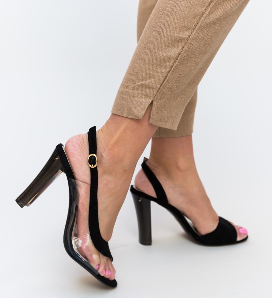 Sandale Liliona Negre