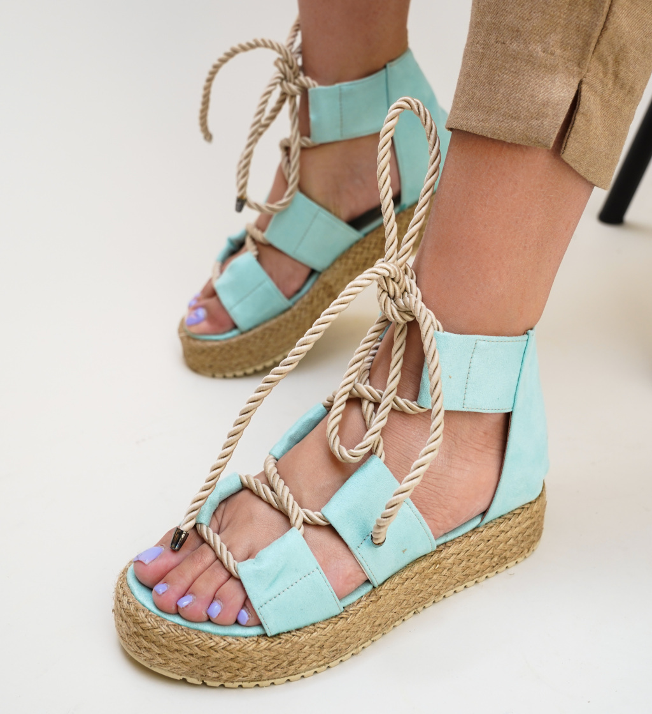 Sandale Nataly Albastre