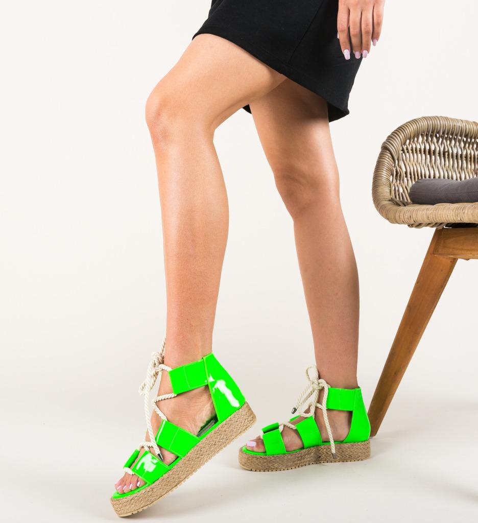 Sandale Pasvon Verzi