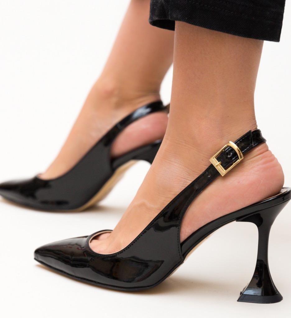 Sandale Piramas Negre 2 imagine