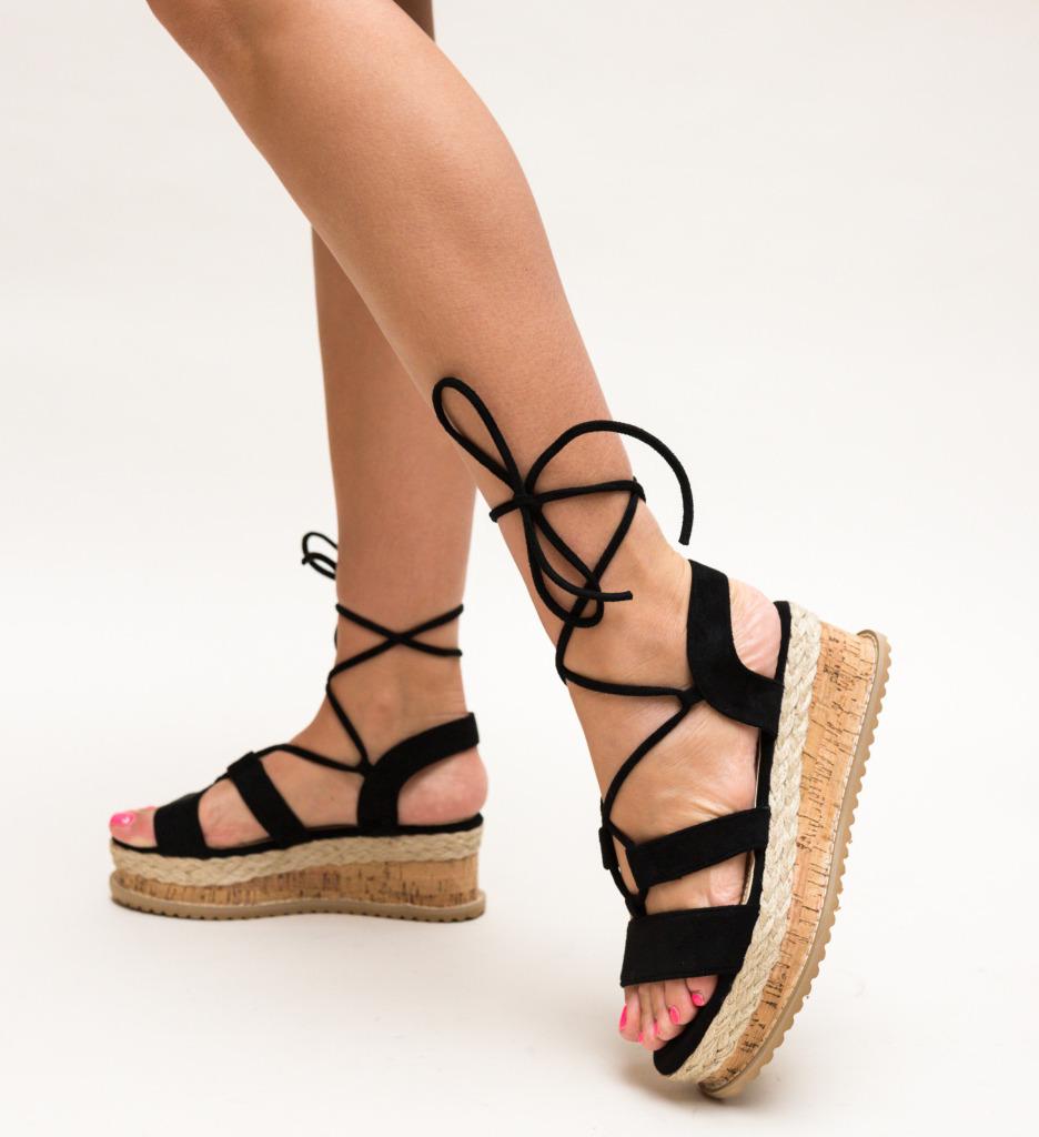 Sandale Vela Negre