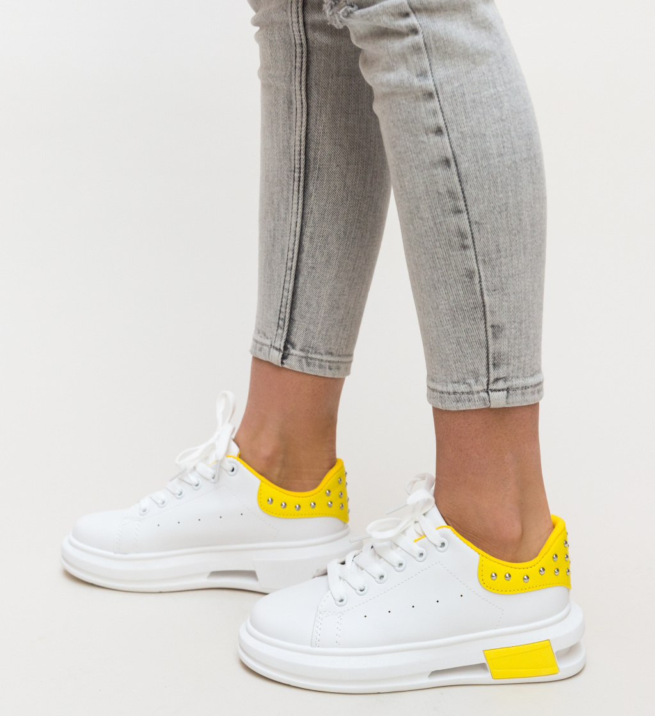Pantofi Sport Botega Galbeni