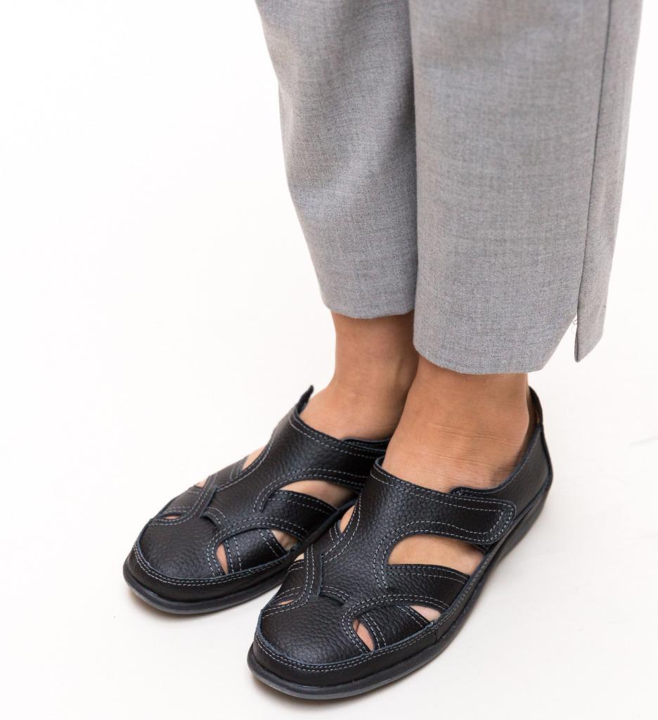 Pantofi Casual Aime Negri