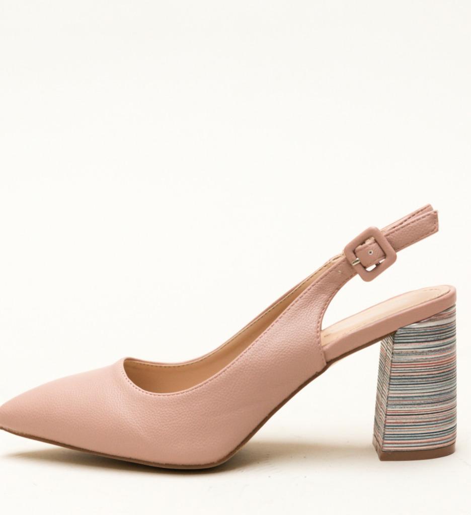 Pantofi Blane Roz