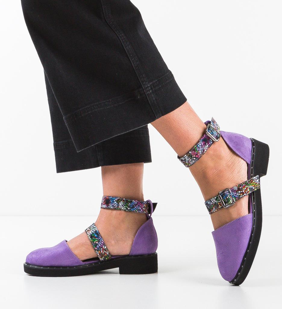 Pantofi Casual Bestaja Mov