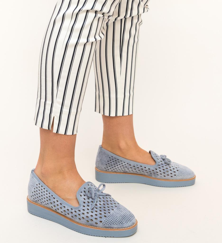 Pantofi Casual Clasim Albastri