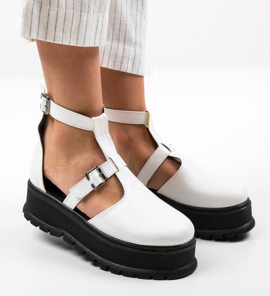 Pantofi Casual Clonata Albi