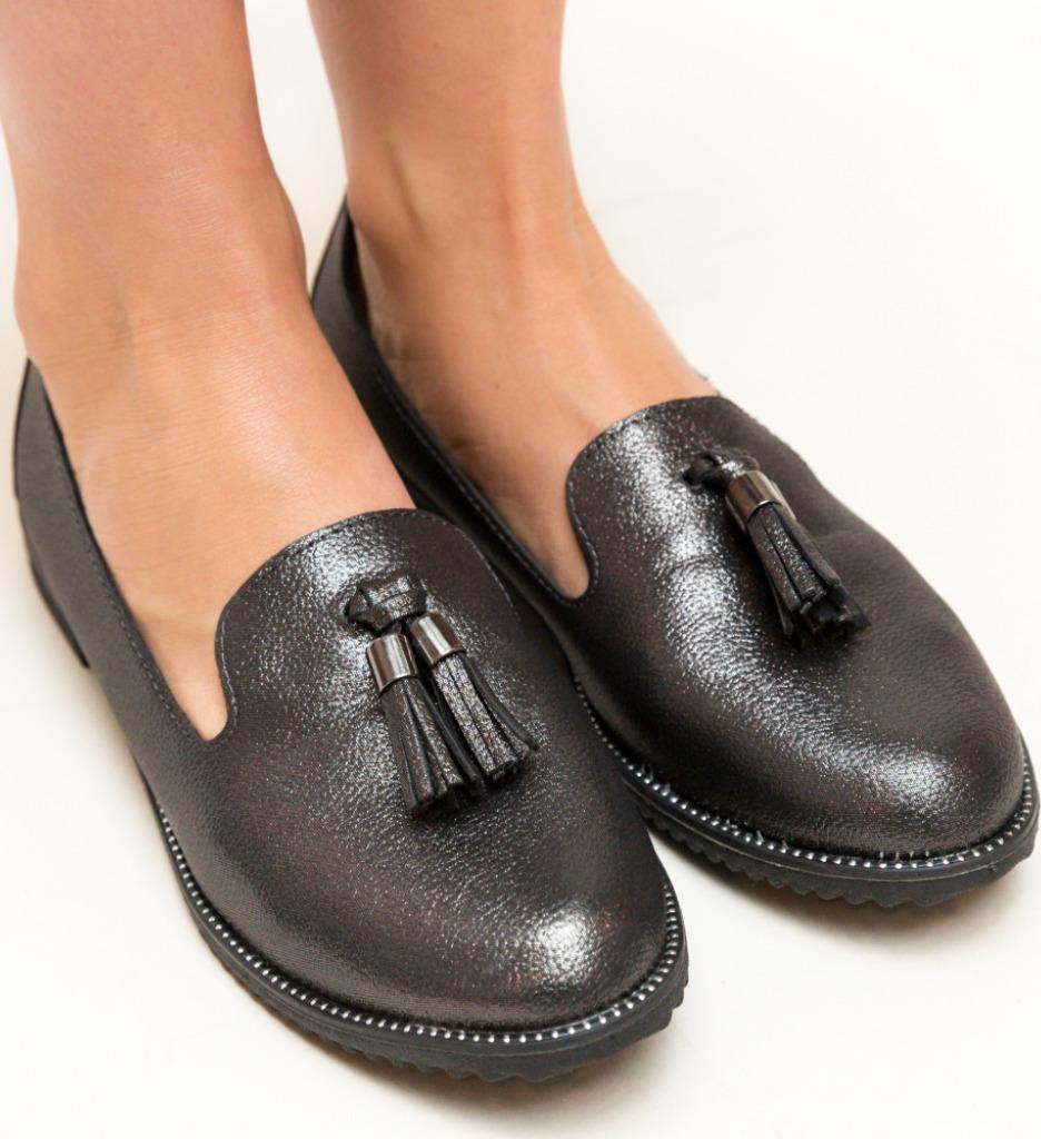 Pantofi Casual Cortez Gri