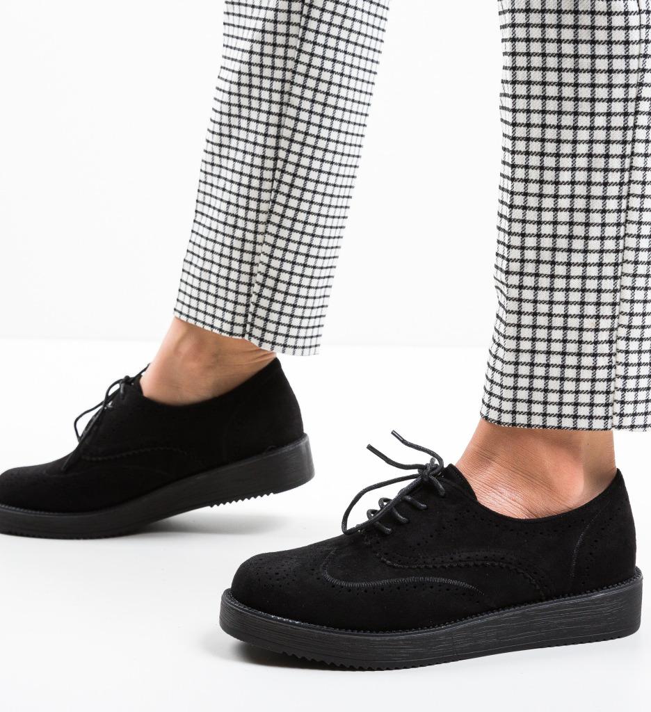 Pantofi Casual Devonk Negre 2
