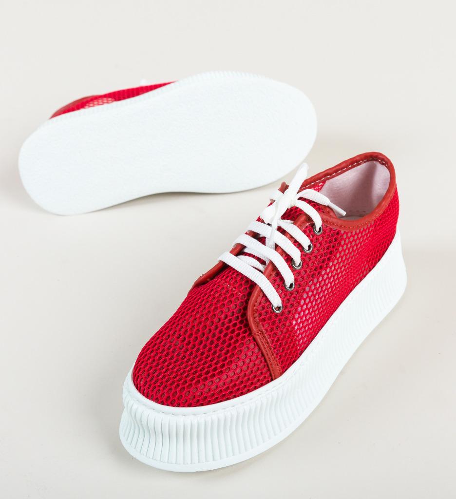 Pantofi Casual Doheris Rosii