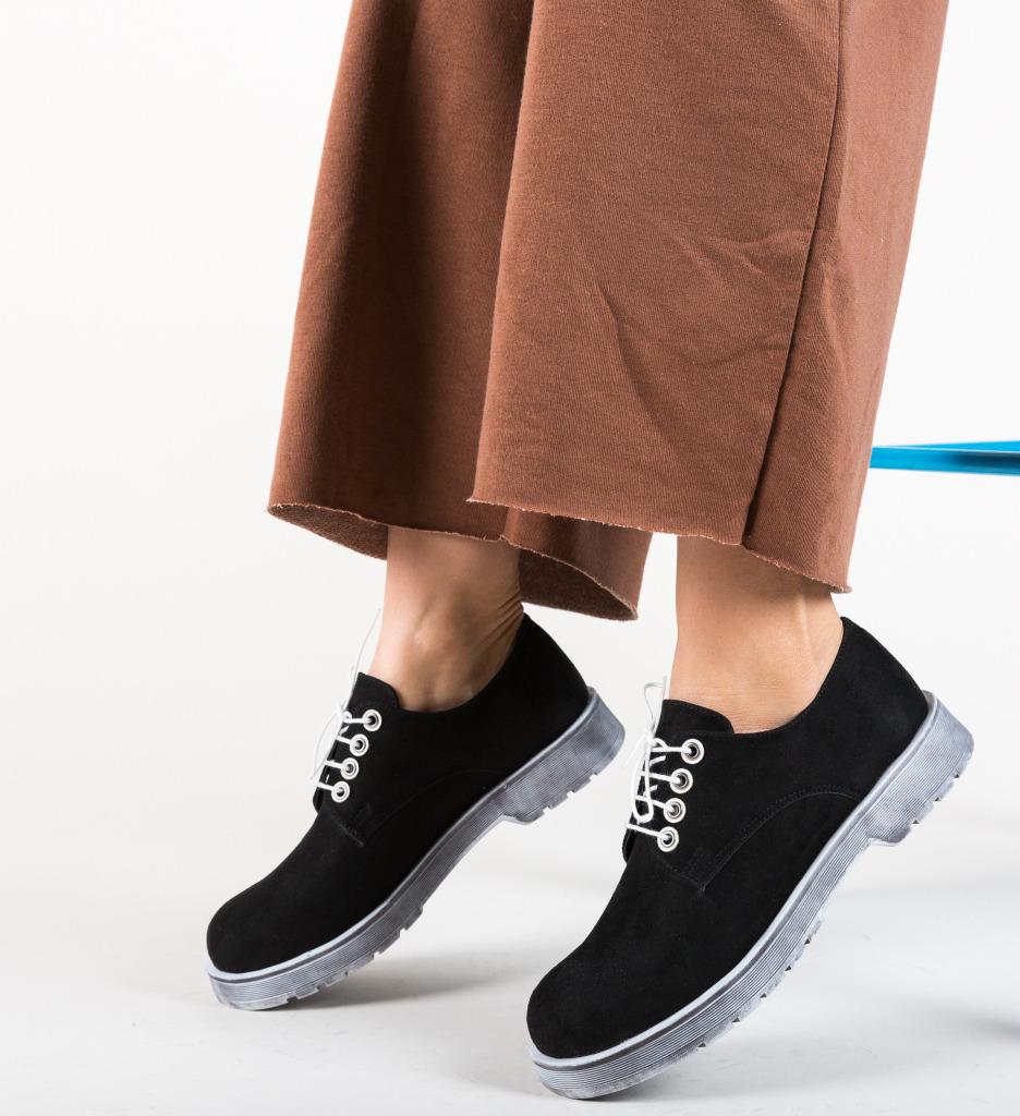 Pantofi Casual Flavored Negri