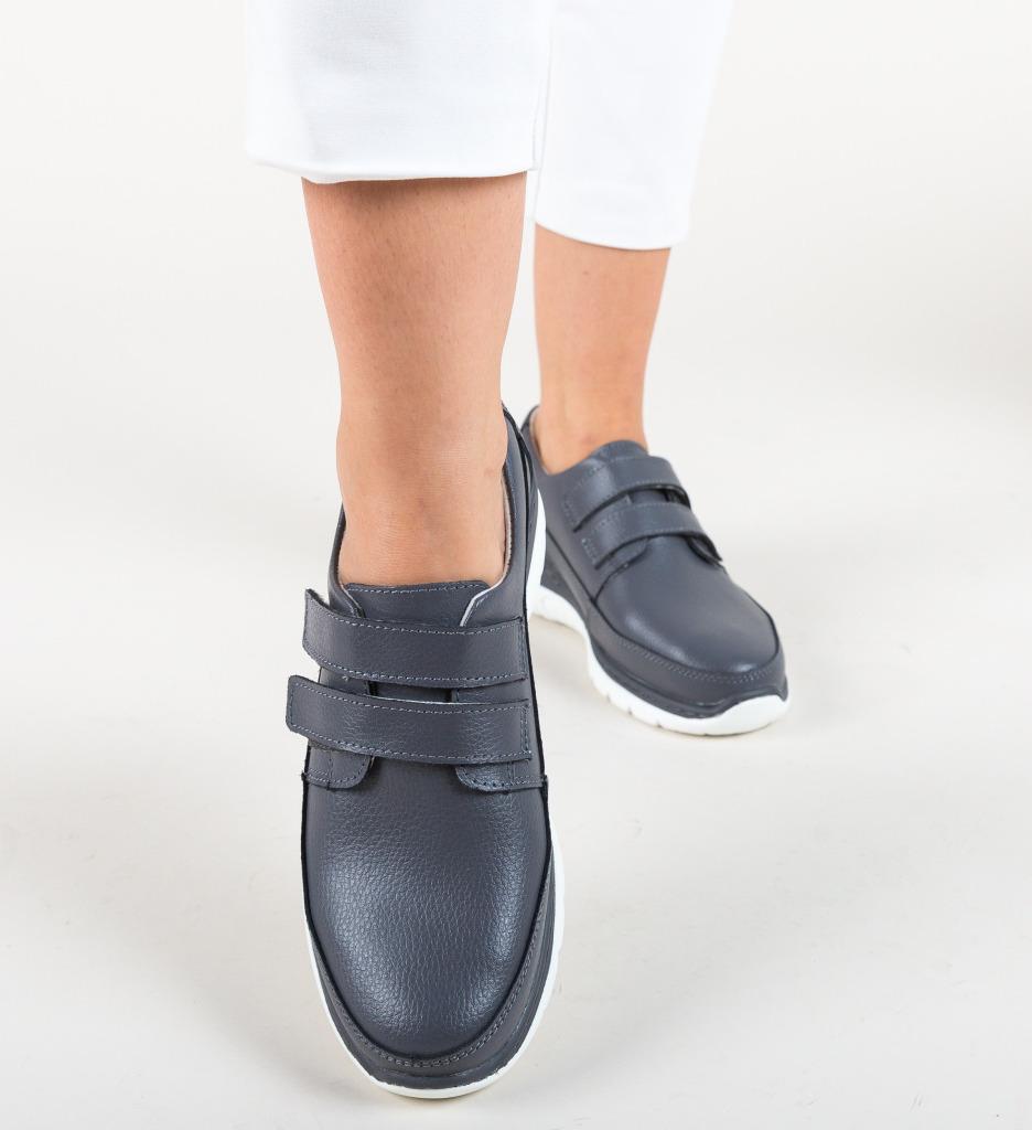 Pantofi Casual Grant Gri
