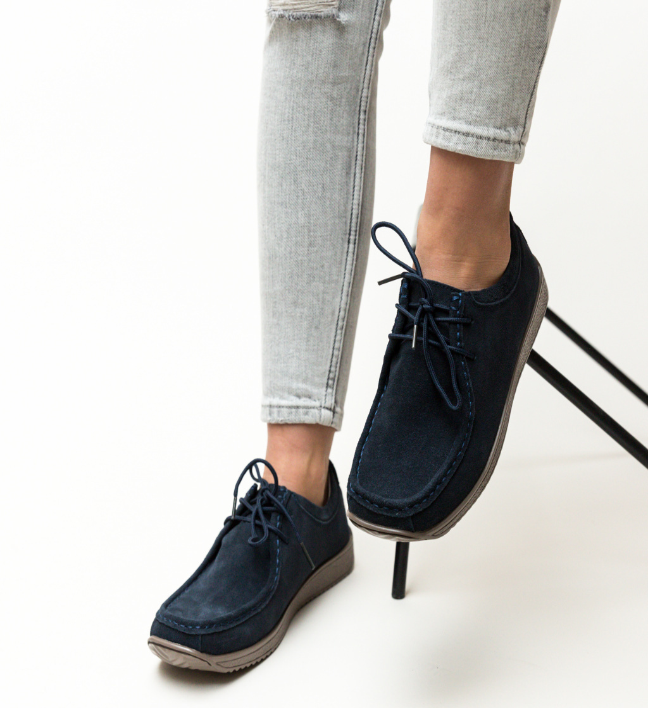 Pantofi Casual Helvetic Bleumarin