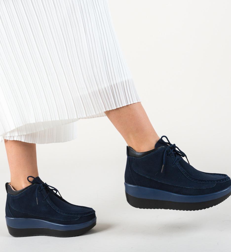 Pantofi Casual Lennon Bleumarin