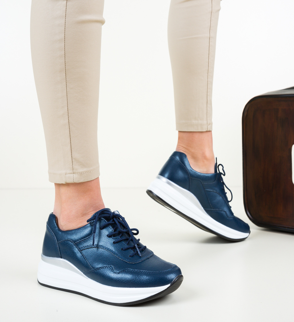 Pantofi Casual Lynde Bleumarin
