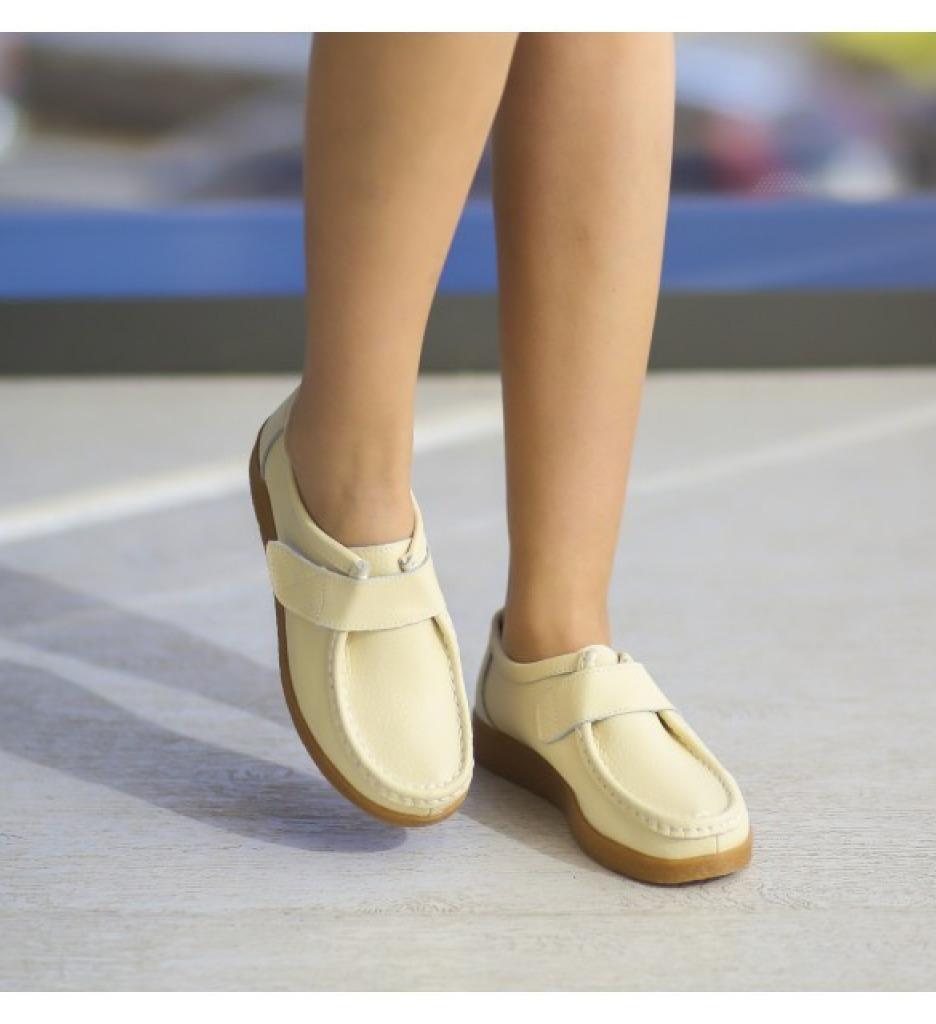 Pantofi Casual Monta Bej