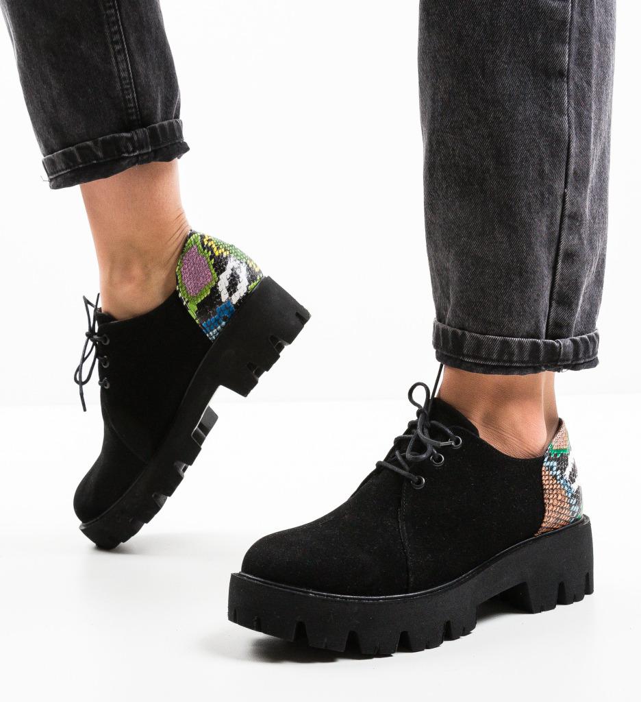 Pantofi Casual Olaru Negri 2