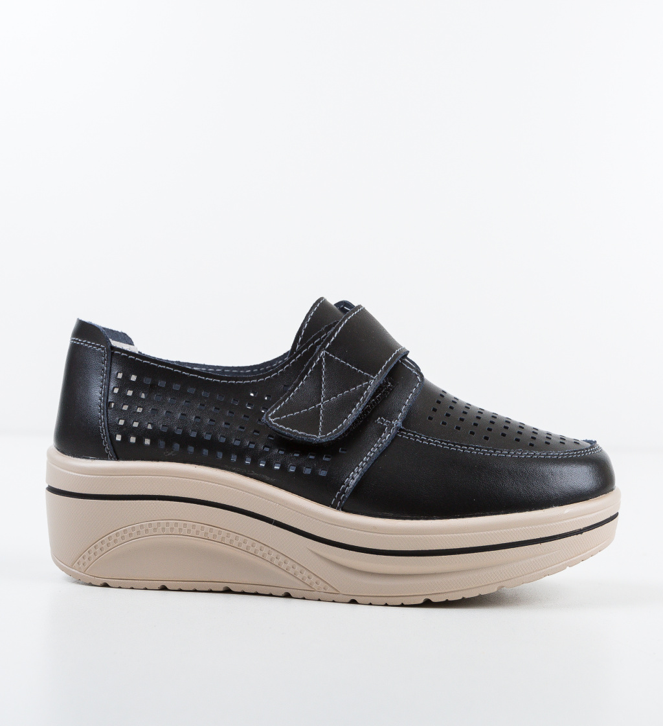 Pantofi Casual Rezolito Negre