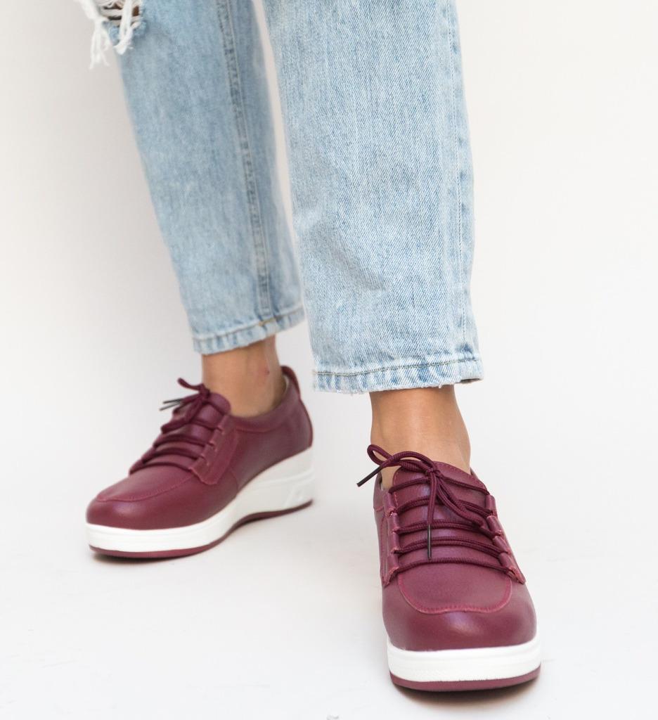 Pantofi Casual Roma Grena