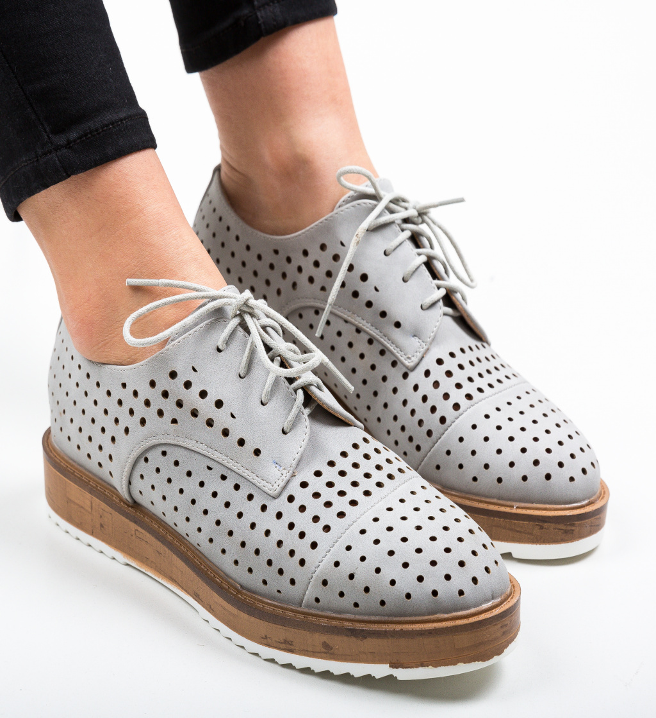 Pantofi Casual Ropag Gri