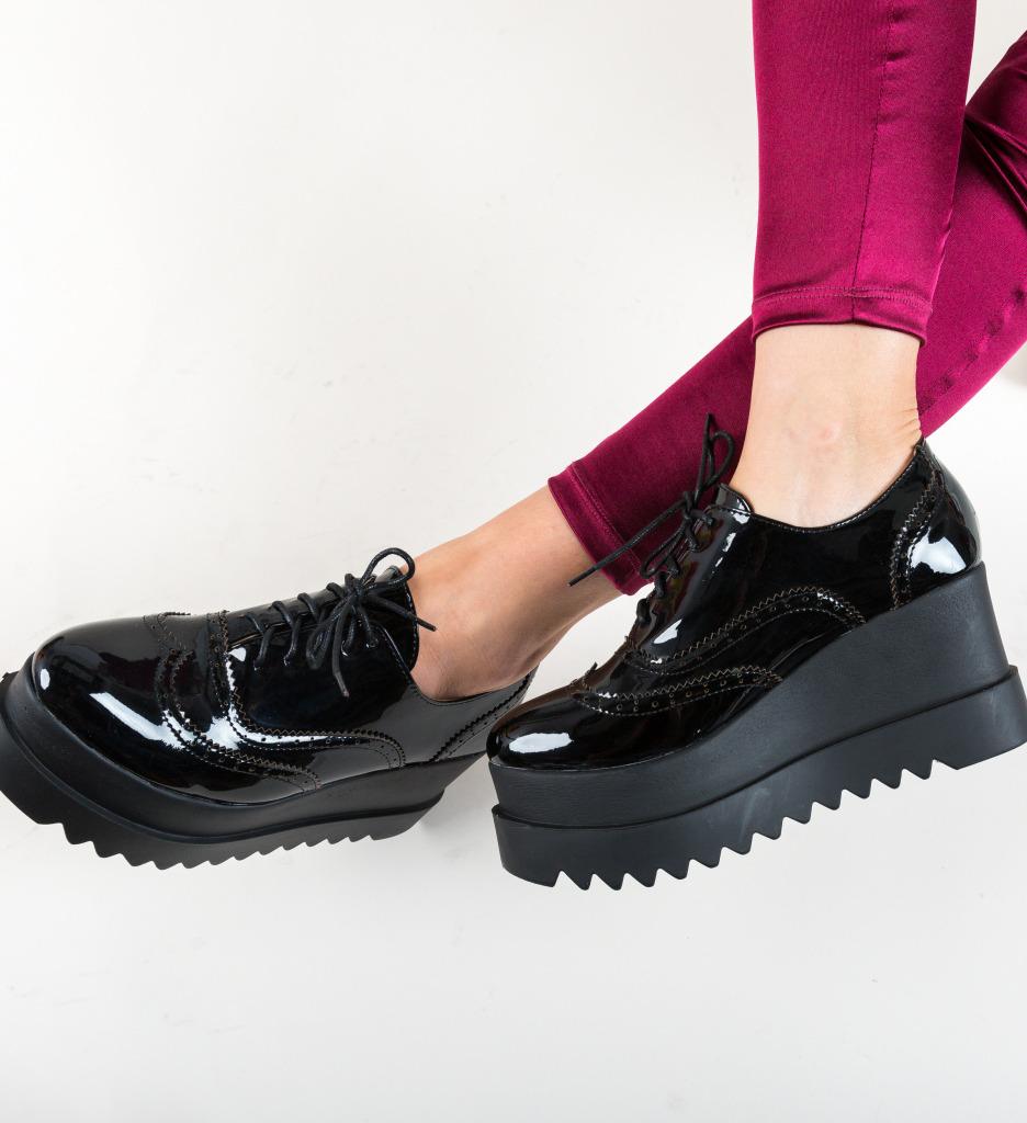 Pantofi Casual Roxie Negri