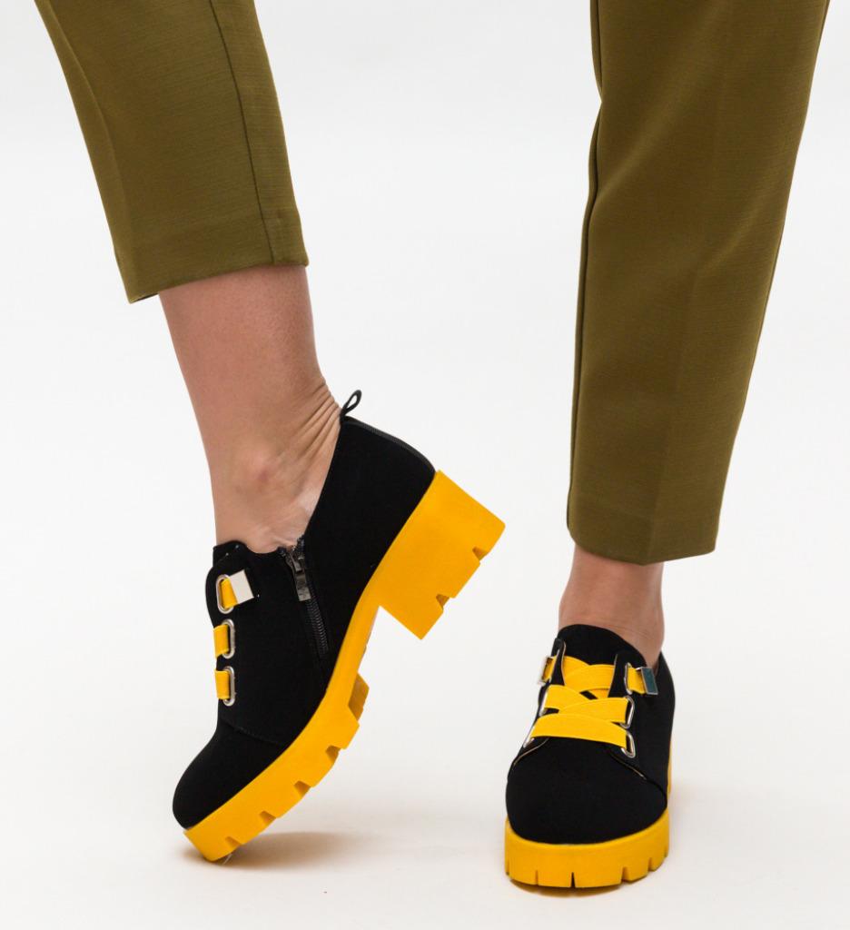 Pantofi Casual Samsi Galbeni