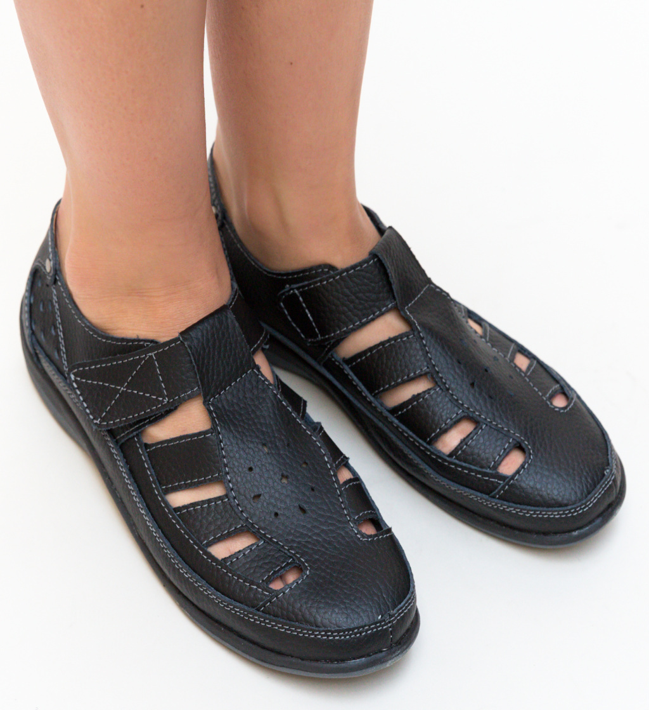 Pantofi Casual Saptes Negri