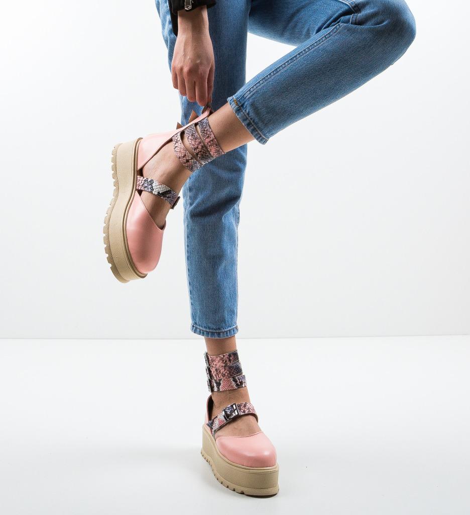 Pantofi Casual Sefma Roz 2