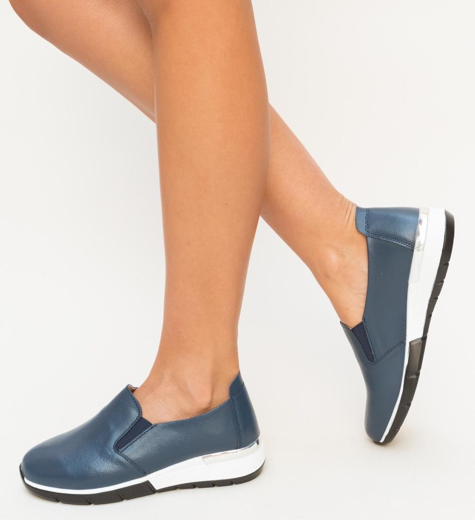 Pantofi Casual Vestri Bleumarin