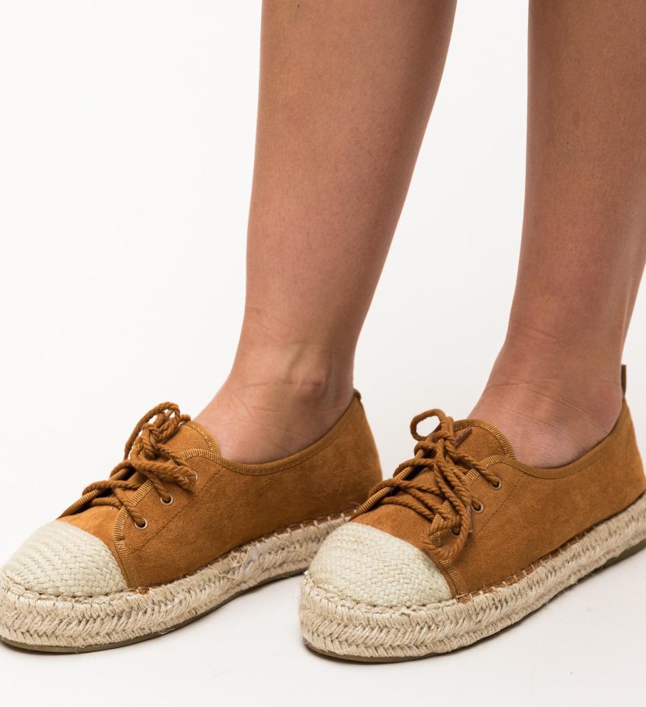 Pantofi Casual Yusuf Camel