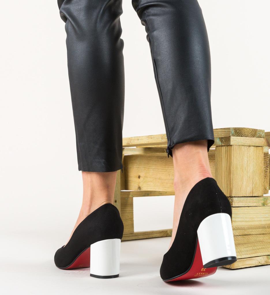 Pantofi Coffe Negri
