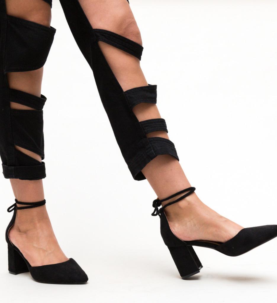 Pantofi Fitonic Negri