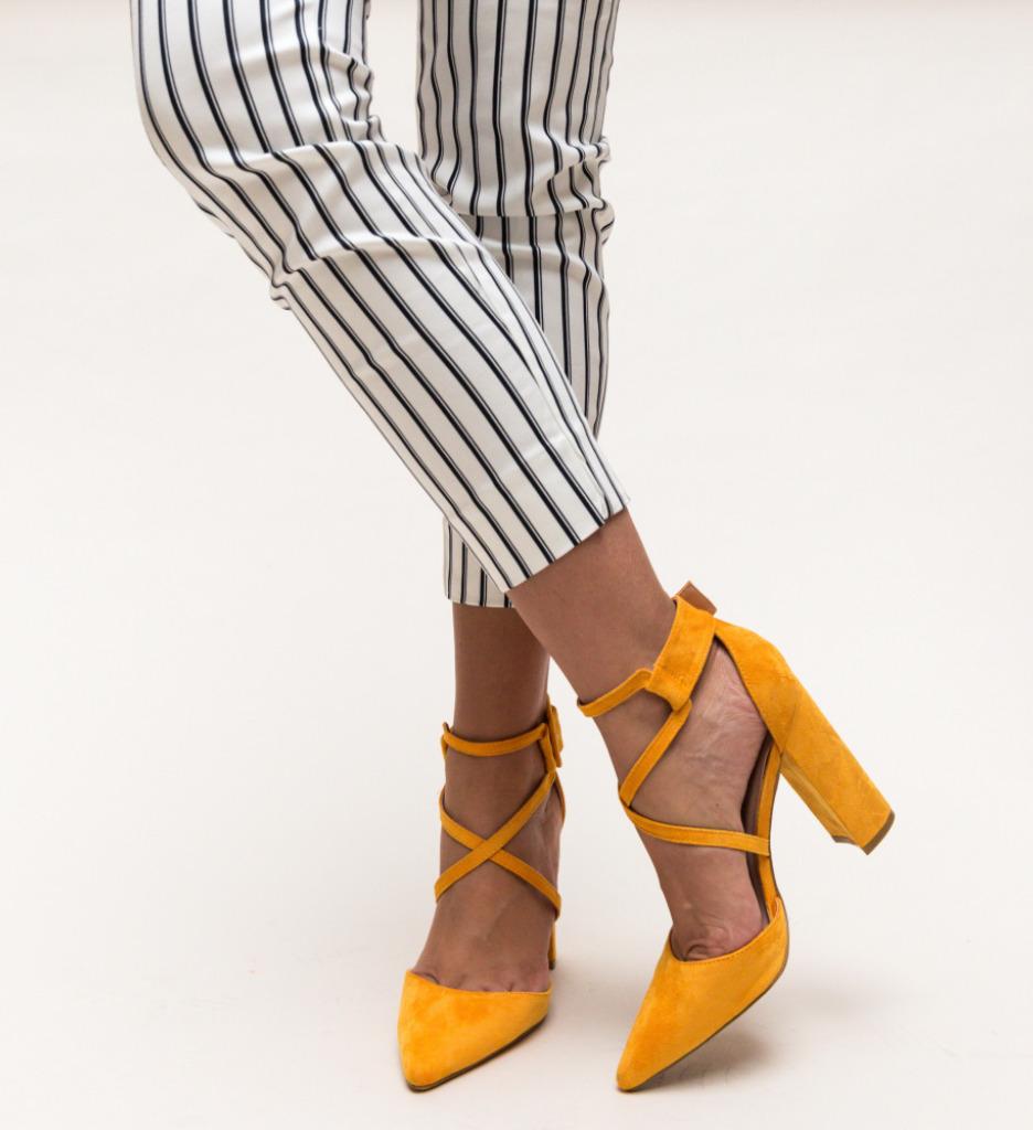 Pantofi Garet Galbeni