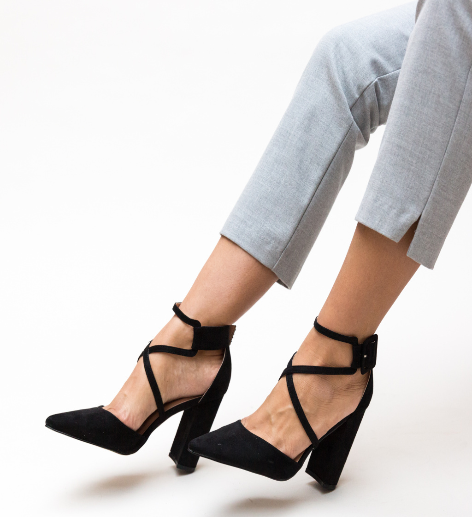 Pantofi Garet Negri