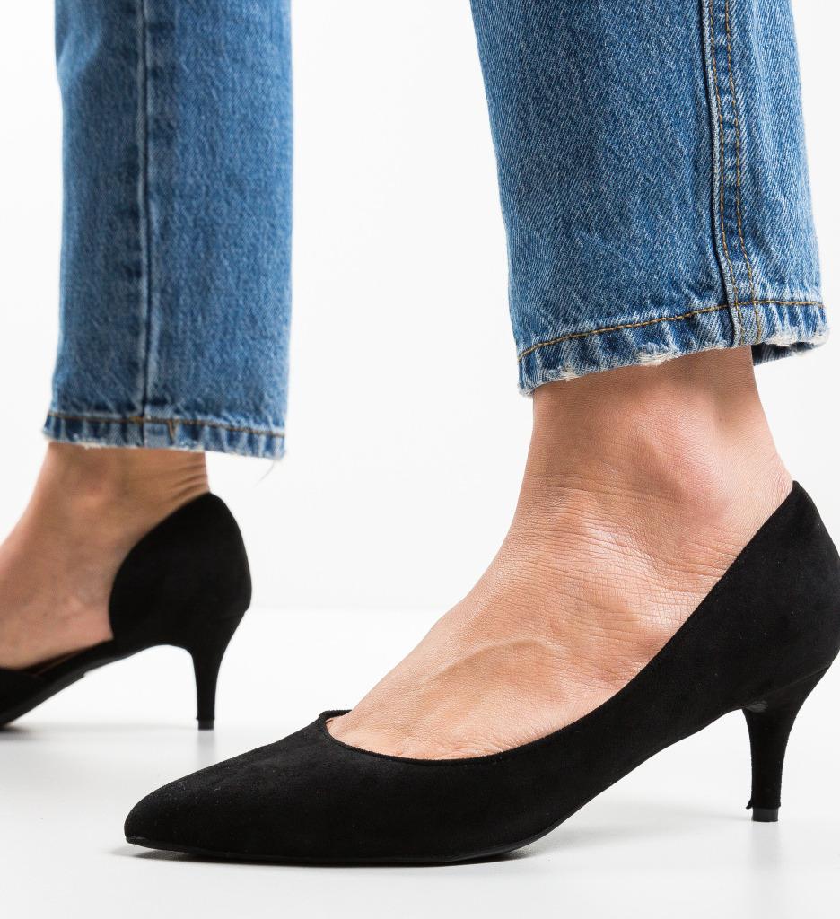 Pantofi Gely Negri