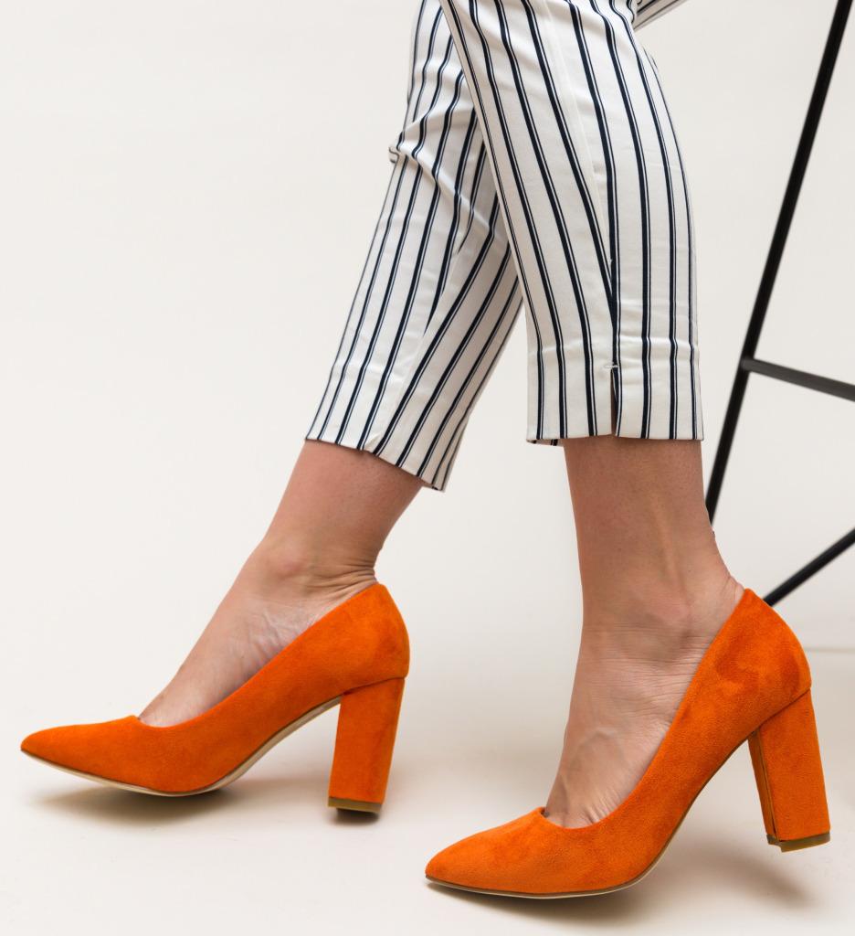 Pantofi Genta Portocalii imagine