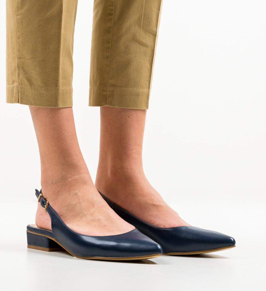 Pantofi Howe Bleumarin