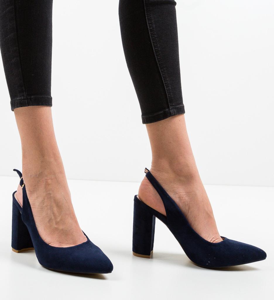 Pantofi Kyal Bleumarin
