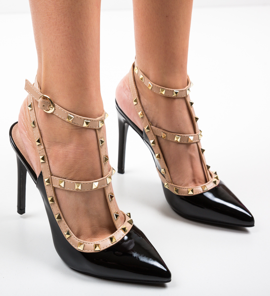 Pantofi Lewi Negri