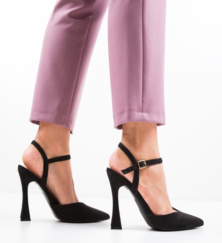 Pantofi Neroc Negri