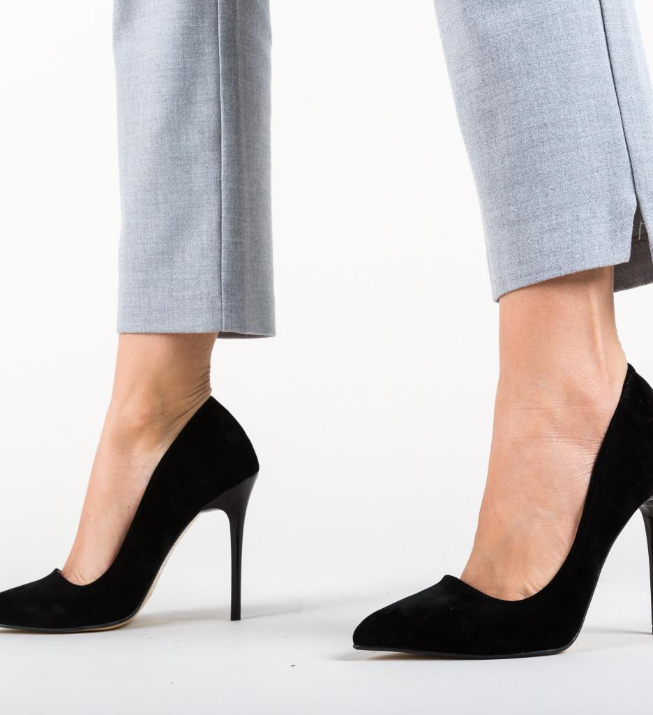Pantofi Nordo Negri