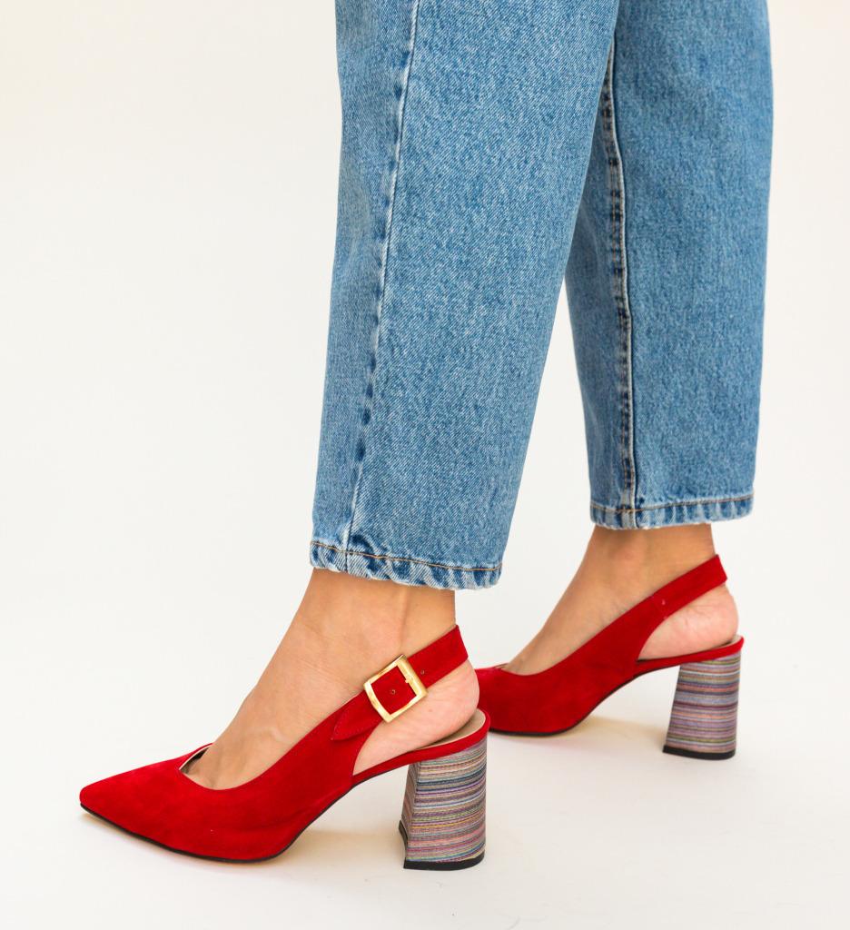 Pantofi Palalama Rosii