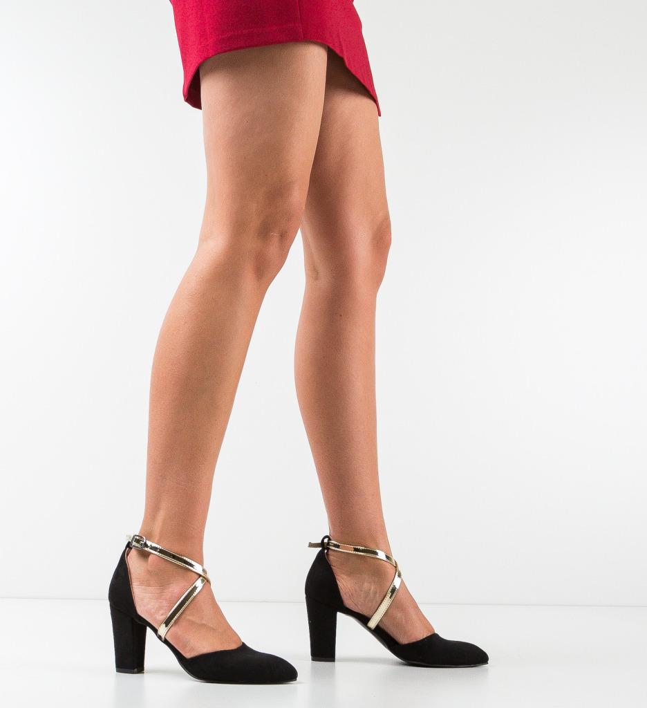 Pantofi Pandini Negri 2