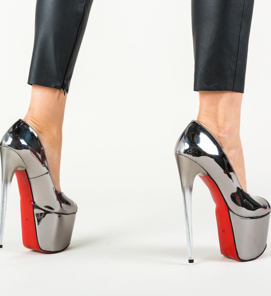 Pantofi Perception Gri