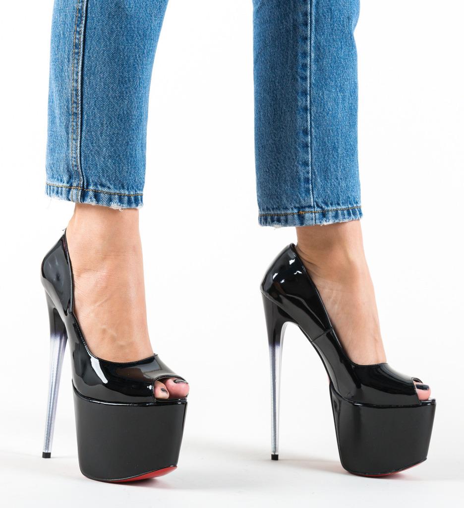 Pantofi Perception Negri 2