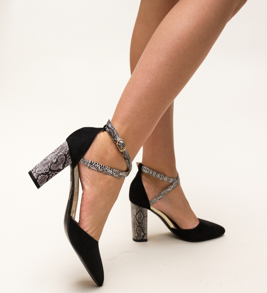 Pantofi Piperco Negri