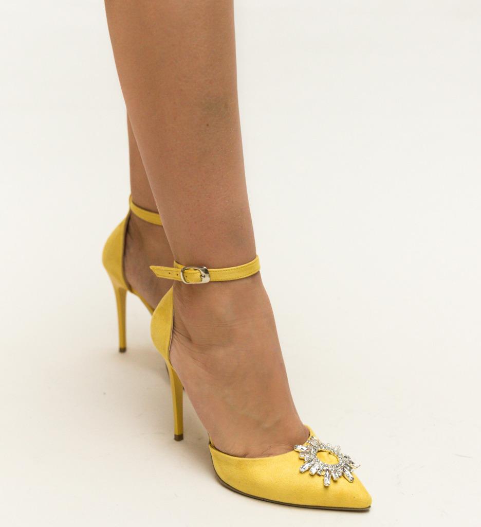Pantofi Ross Galbeni