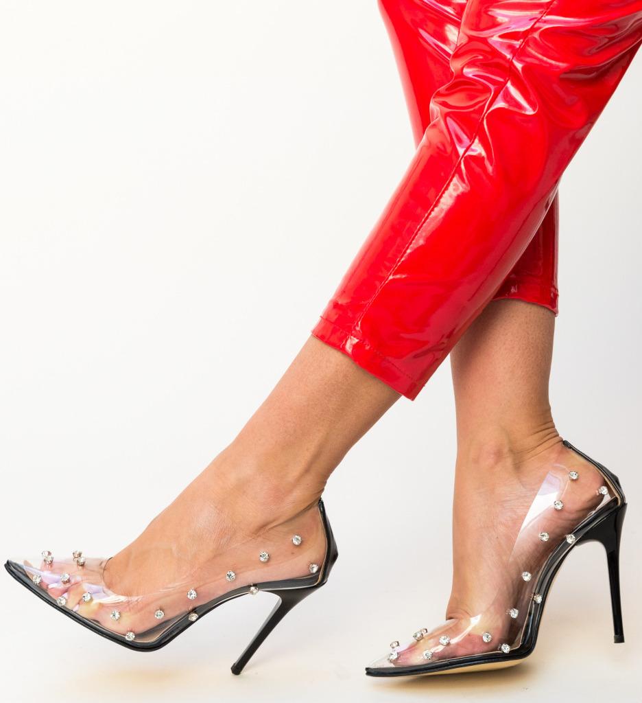 Pantofi Sabin Negri