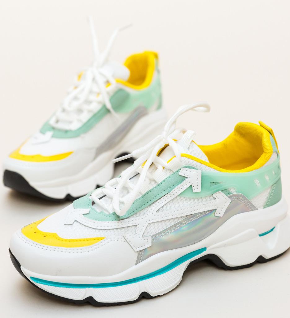 Pantofi Sport Alesha Verzi